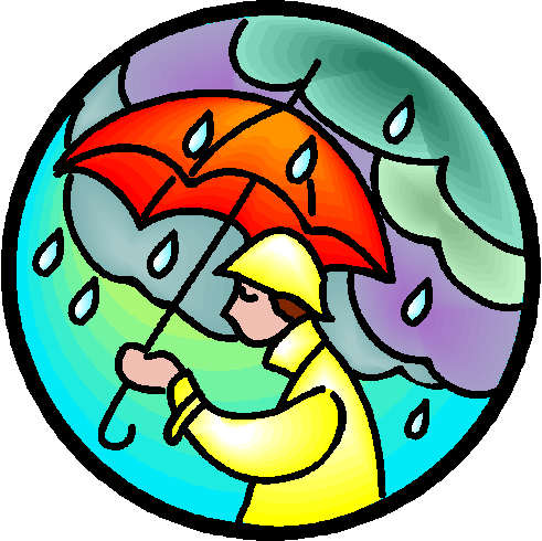 Precipitation Clipart As The Rainfall Reporter