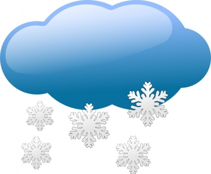 Precipitation Clipart High Elevations But