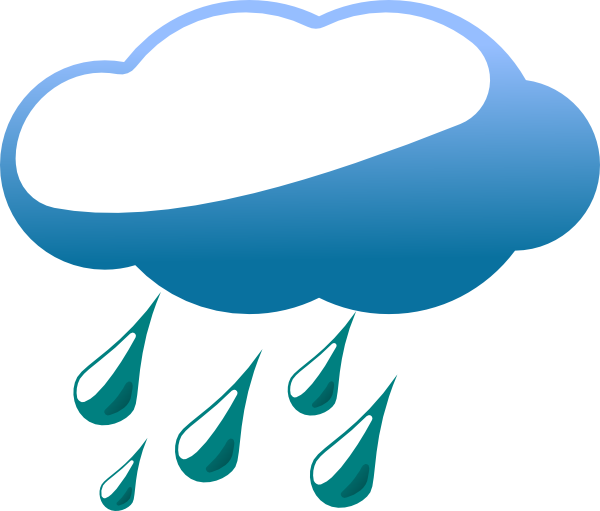 Rain Clip Art At Clker Com   Vector Clip Art Online Royalty Free