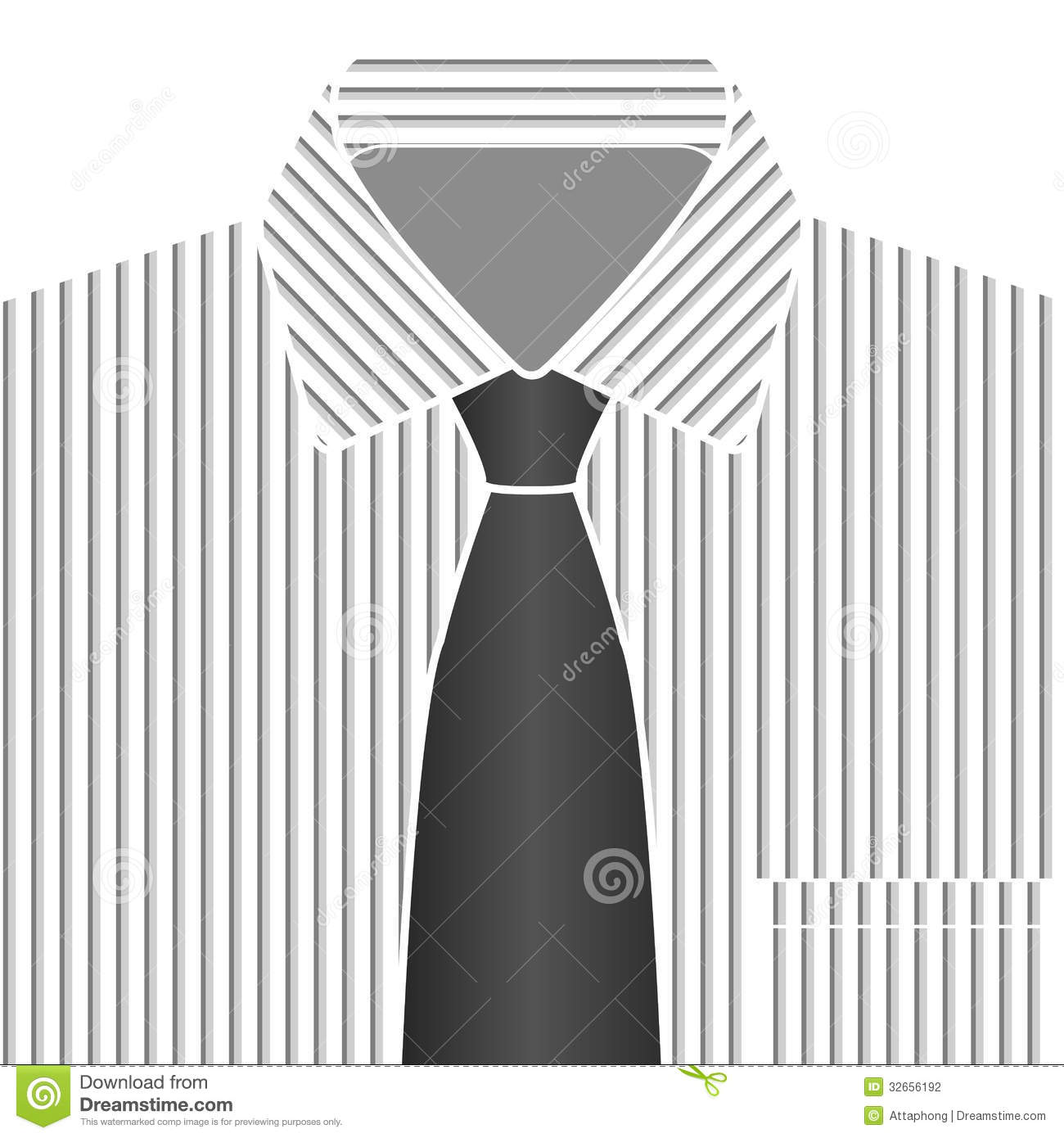 shirt and tie clipart black and white grey tone shirt and