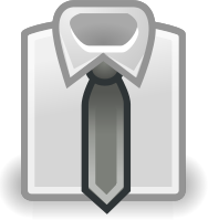 Shirt Tie White   Http   Www Wpclipart Com Office People Clothes Shirt