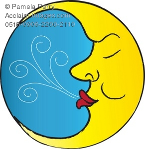 The Man In Moon Clipart - Clipart Suggest