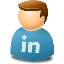 Social Person Linkedin Icon