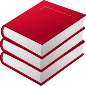 Stack Of Books Clipart Black And White Red Books Pile Clip Art