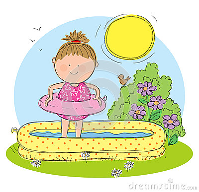 Summer Season Clipart Hand Drawn Picture Summer
