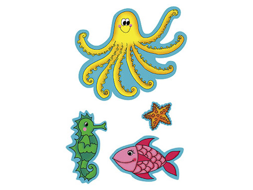 Under The Sea  Sea Creatures Clip Art