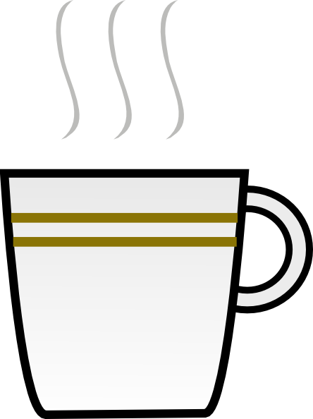 Another Coffee Cup Clip Art At Clker Com   Vector Clip Art Online