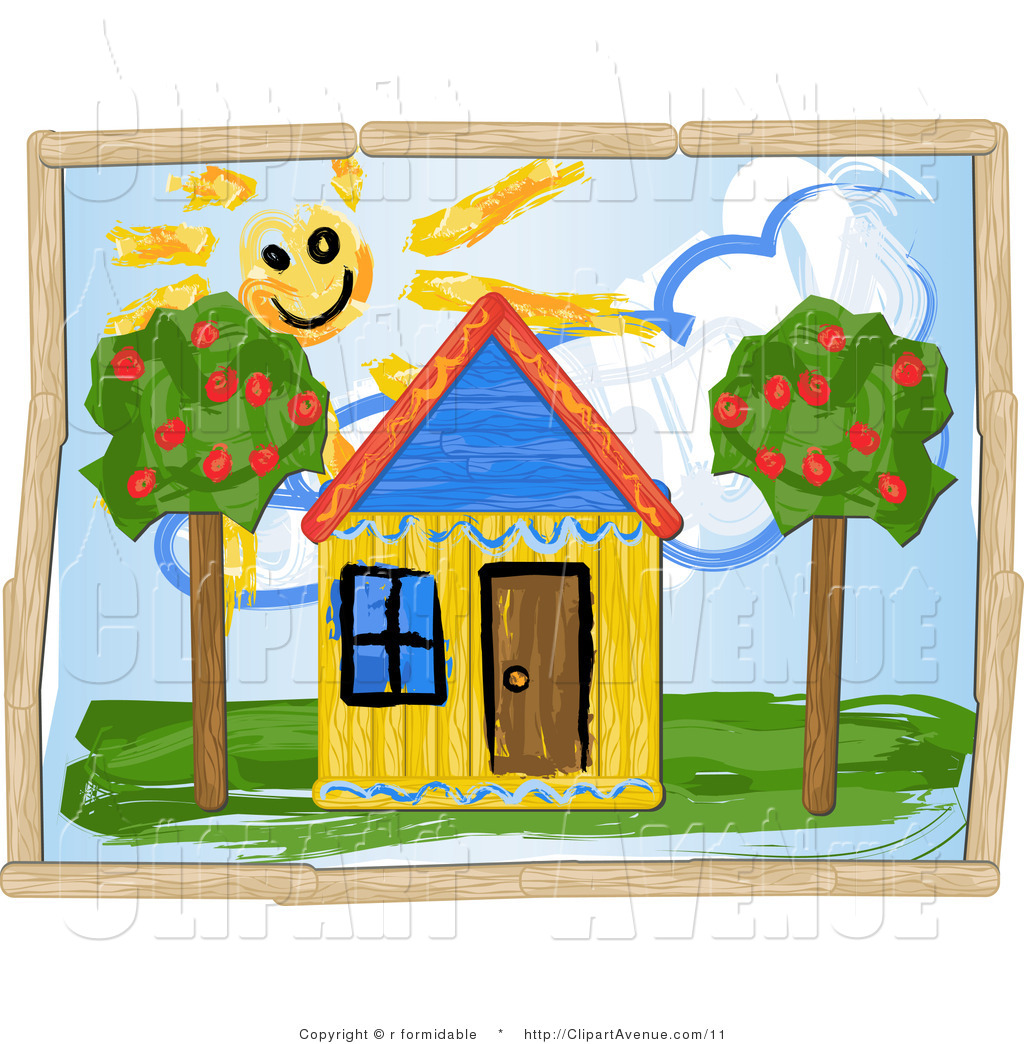 Drawings Of Houses Clipart - Clipart Suggest
