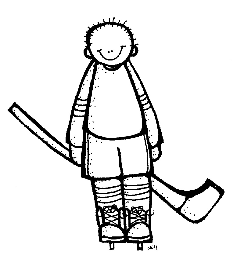 Go Back   Pix For   Hockey Clip Art Black And White