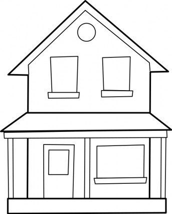 Drawings Of Houses lipart - lipart Kid - ^