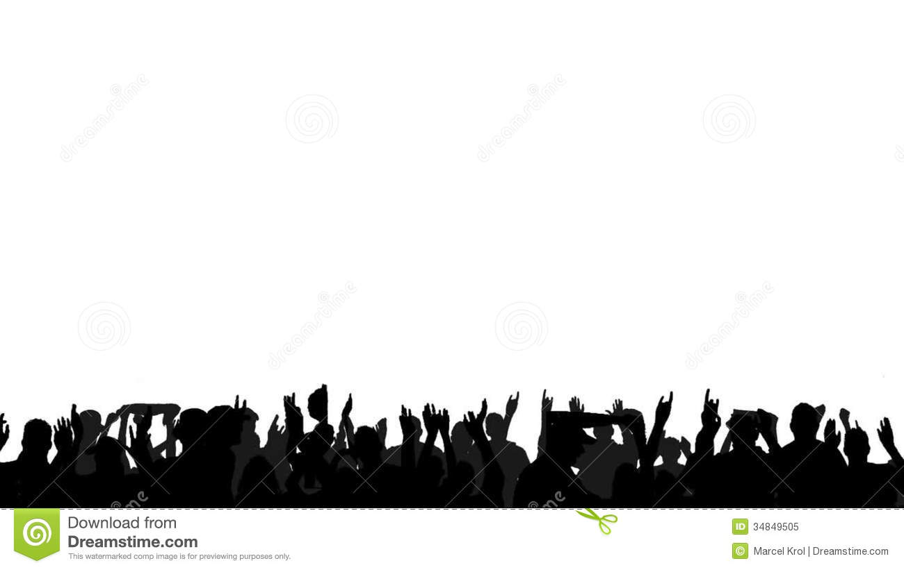 Cheering Audience Clapping Hands Clipart - Clipart Kid