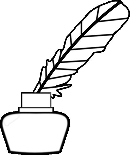 Quill Pen Clip Art At Clker Com   Vector Clip Art Online Royalty Free
