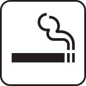 Smoking White Clip Art At Clker Com   Vector Clip Art Online Royalty