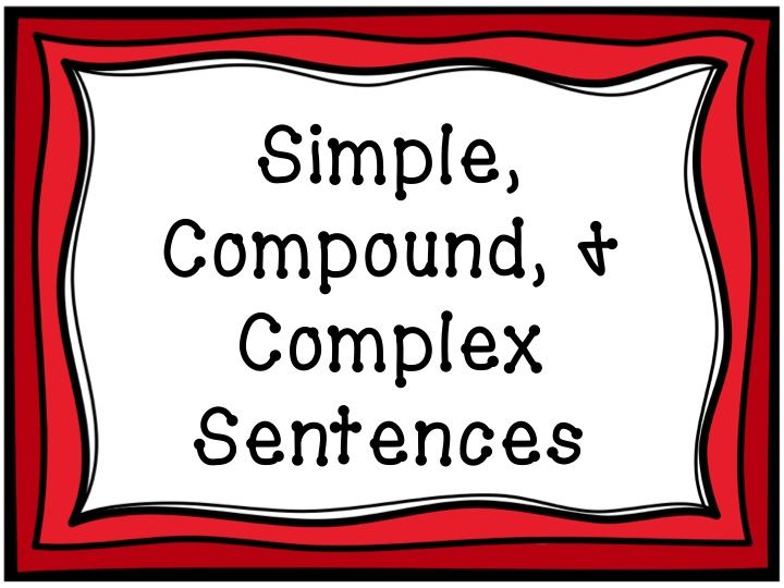 And Complex Sentences  Border By Creative Clips Digital Clip Art