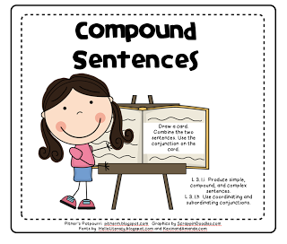 Compound Sentence Clipart Here Is A Compound Sentence