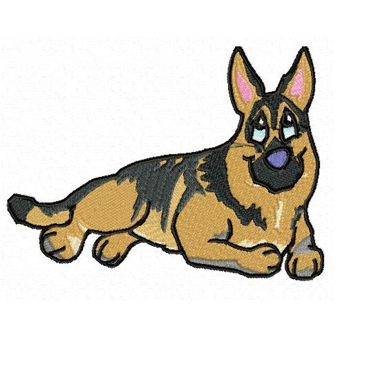 German Shepherd Clipart   Cliparts Co