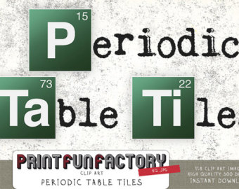 Periodic Table Clipart Periodic Table Tiles Clip Art