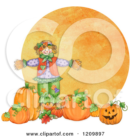 Royalty Free  Rf  Scarecrow Clipart Illustrations Vector Graphics  1