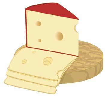 Slice Of Cheese 1 Clip Arts Free Clipart   Clipartlogo Com