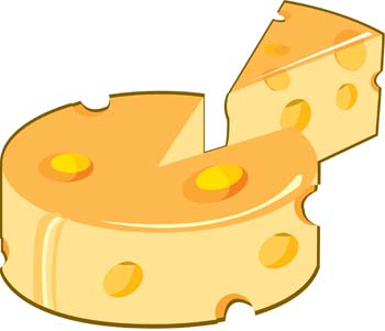 Sliced Cheese Clipart Slice Cheese