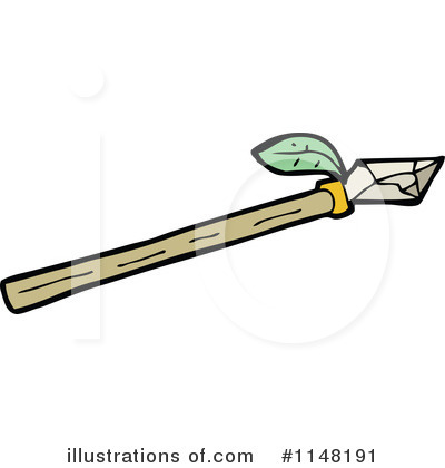 Spear Clipart  1148191   Illustration By Lineartestpilot