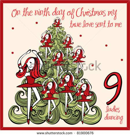 9th Day Of Christmas Clip Art    Blurtit