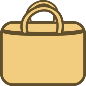 Brown Shopping Bag Clip Art At Clker Com   Vector Clip Art Online