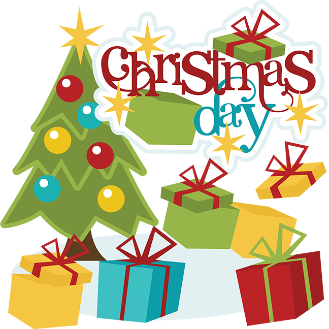 Christmas Day Svg Christmas Day Clipart Christmas Day Scrapbook Svg
