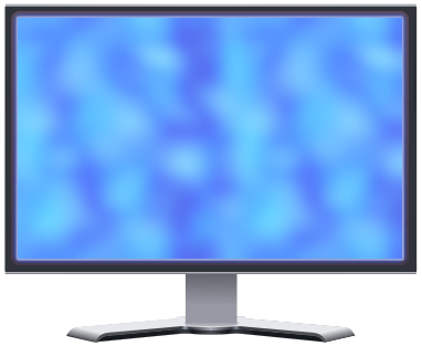 Computer Hardware Monitors More Lcd Lcd Monitor Blue Plasma Png Html