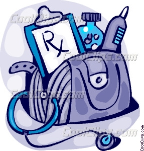 Doctor S Bag Vector Clip Art