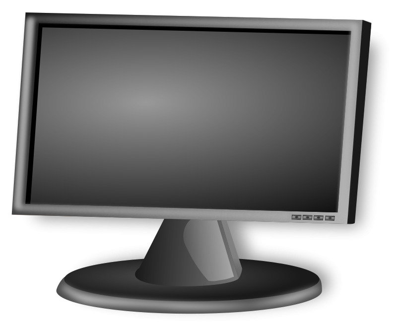 Free Clipart  Lcd Screen   Technology   Inky2010
