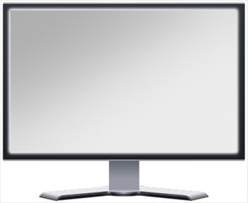 Free Lcd Monitor Blank Screen Clipart   Free Clipart Graphics Images