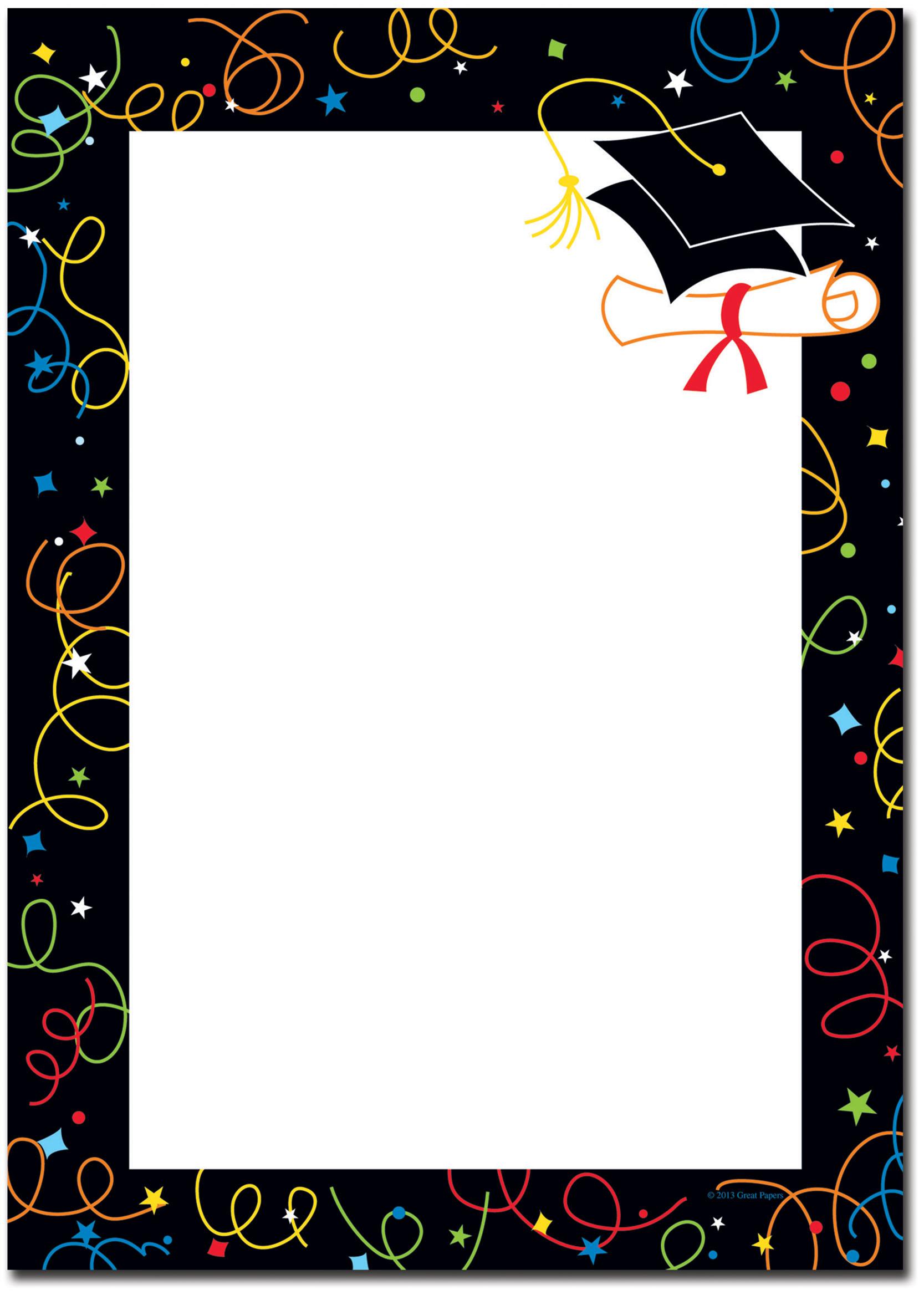 Preschool Graduation Borders Clipart Clipart Suggest