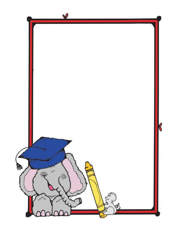 Preschool Graduation Borders Clipart - Clipart Suggest