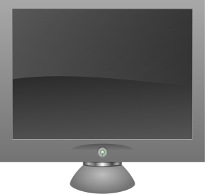 Lcd Monitor Clipart