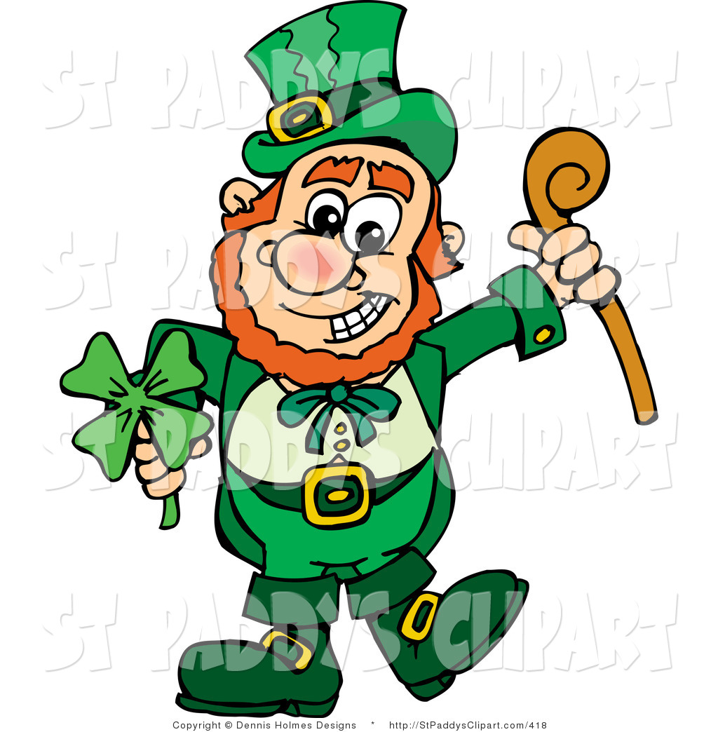 Animated Leprechaunclipart Clipart - Clipart Kid