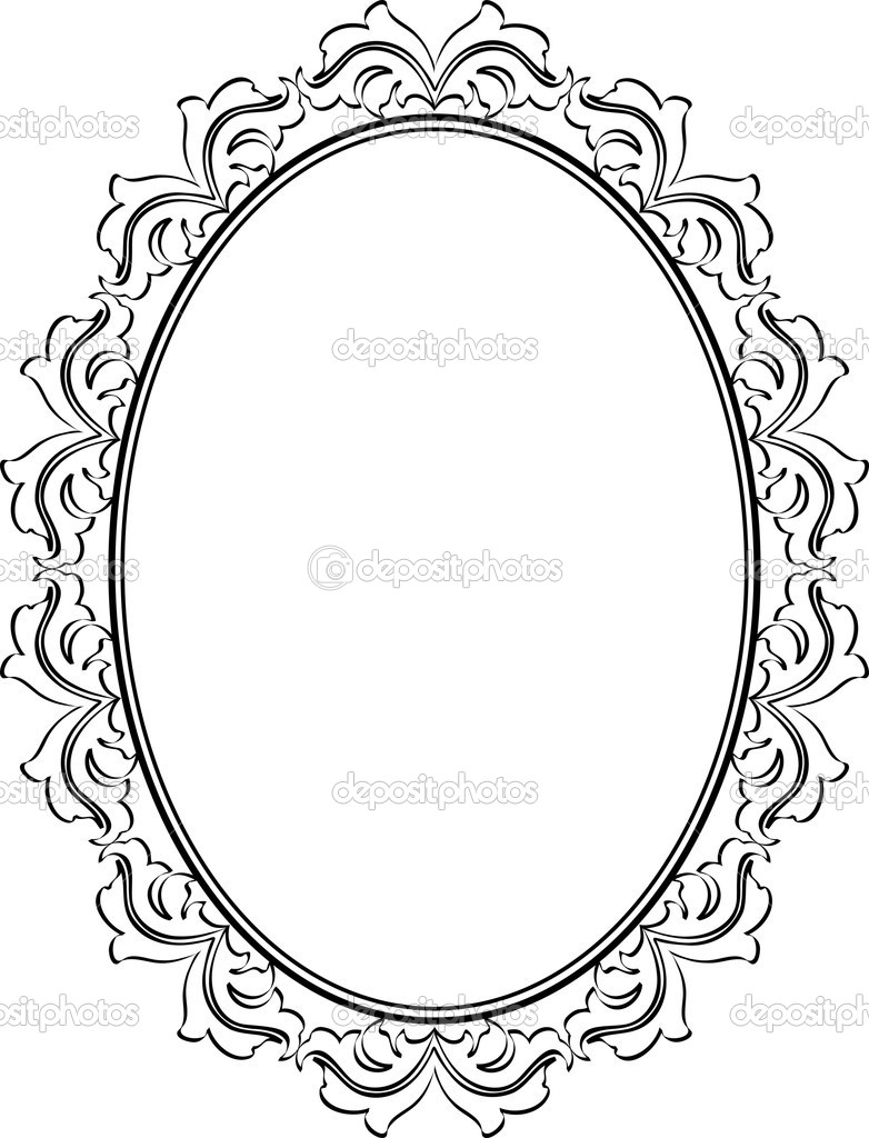 Pin Oval Frame Clip Art Vector Online Royalty Free Amp Public On