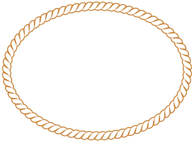 Related Image With Rope Border Oval Clip Art