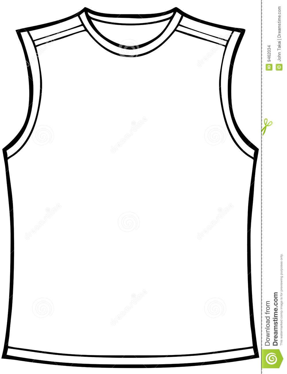 clip art black and white shirt clipart