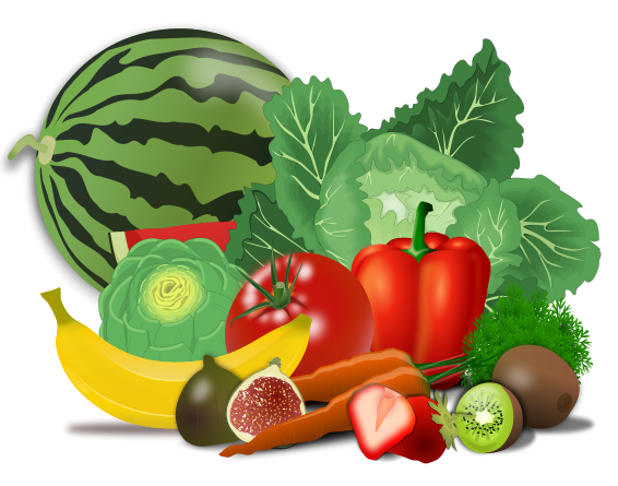 This Clip Art Of A Set Of Healthy Vegetables Is Ideal For Use On Your