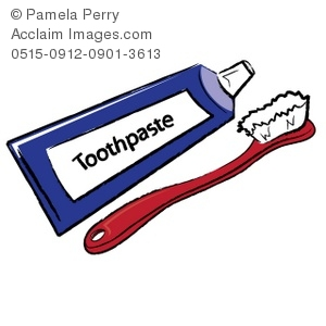 Toothbrush And Toothpaste Clipart   Toothbrush And Toothpaste Stock