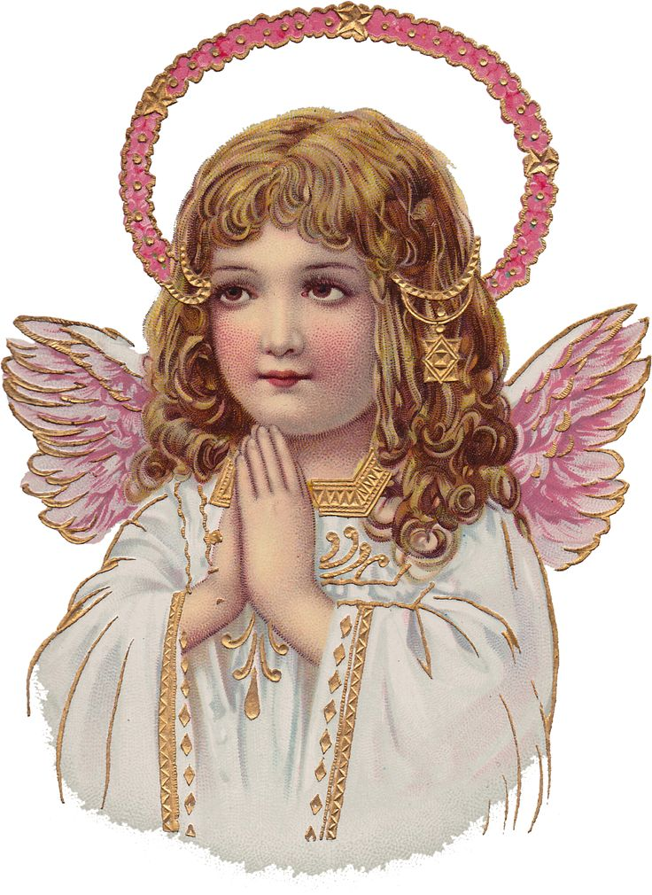 Vintage Angels Transparent Clipart - Clipart Kid