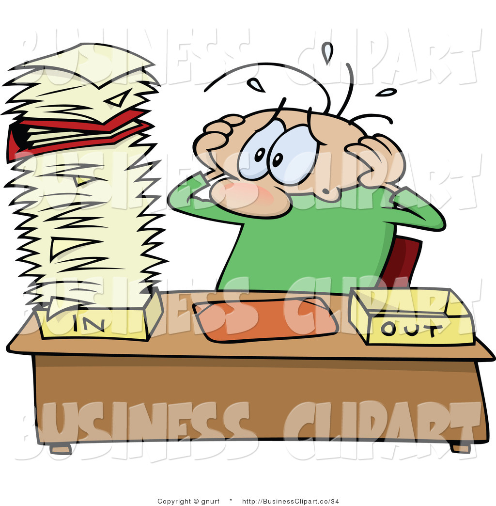 Funny Stressed Guy Clipart Clipart Suggest