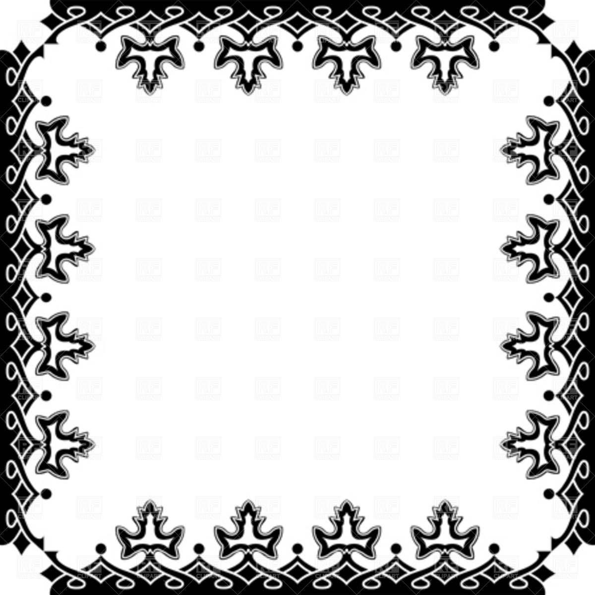 free victorian clip art frames - photo #10