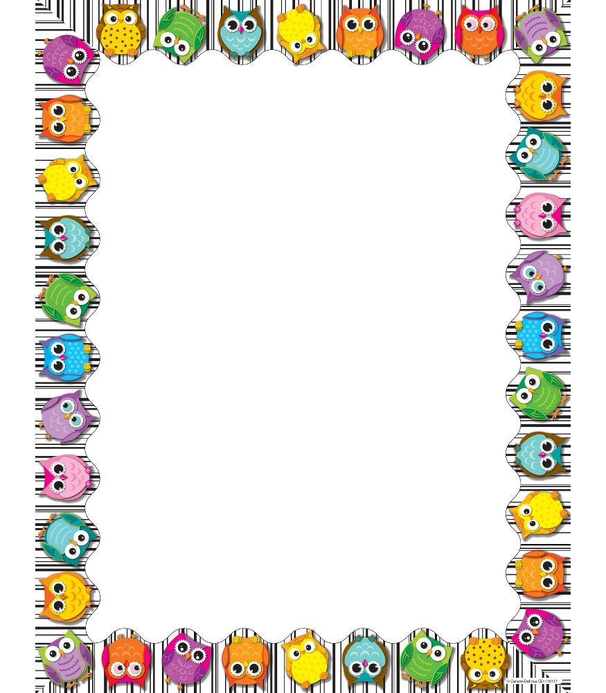 78 Images Of Owl Borders Clip Art   You Can Use These Free Cliparts