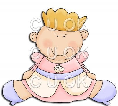 Baby 1st Halloween Princess    0 17   Commercial Use Clip Art