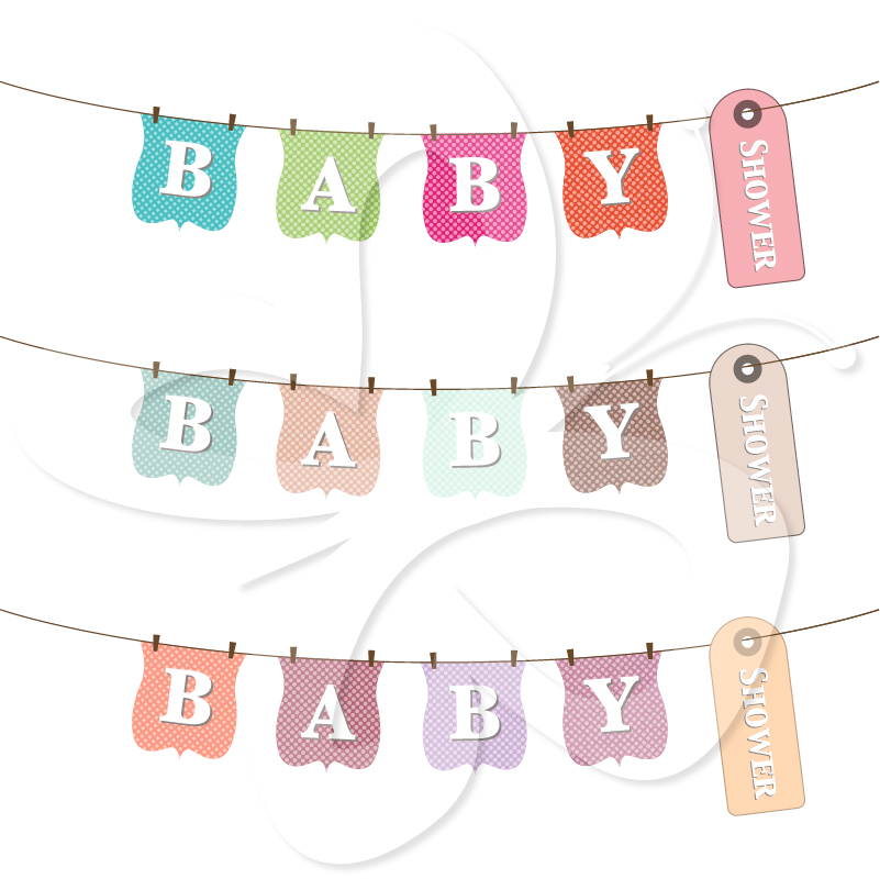 Baby Clothesline Clipart Baby Shower Wording Clothes