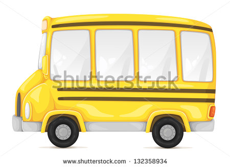 Back   Pix For   School Bus Cartoon Side View
