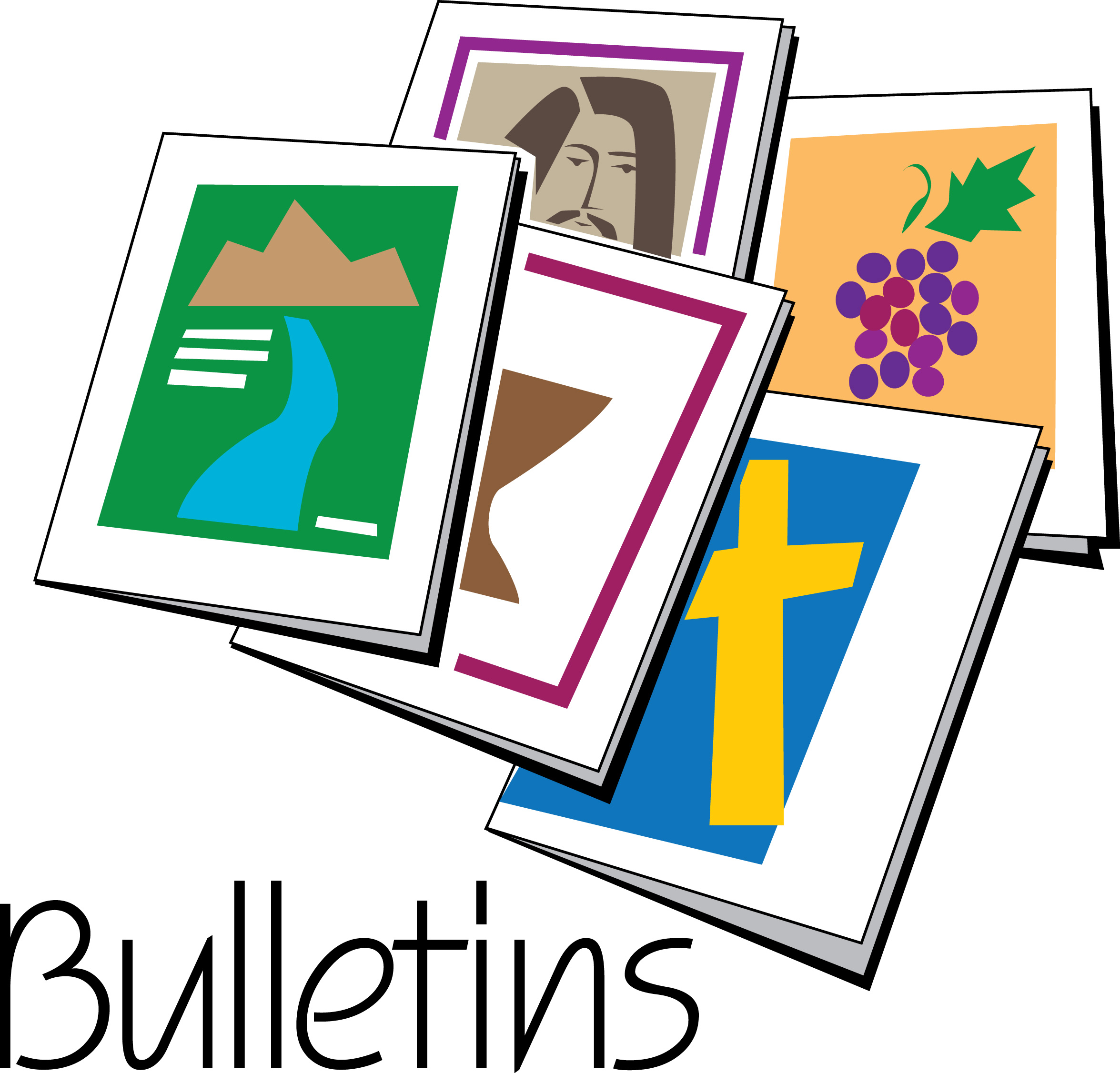 Image result for clipart for church bulletins