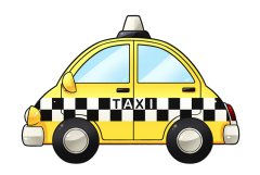 Free To Use   Public Domain Taxi Clip Art